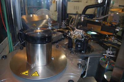 مراحل تولید CD و DVD به روش استمپر