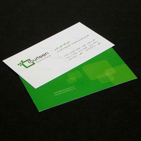رنگ لوگو در طراحی کارت ویزیت