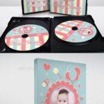لیبل سی دی عکس کودکان