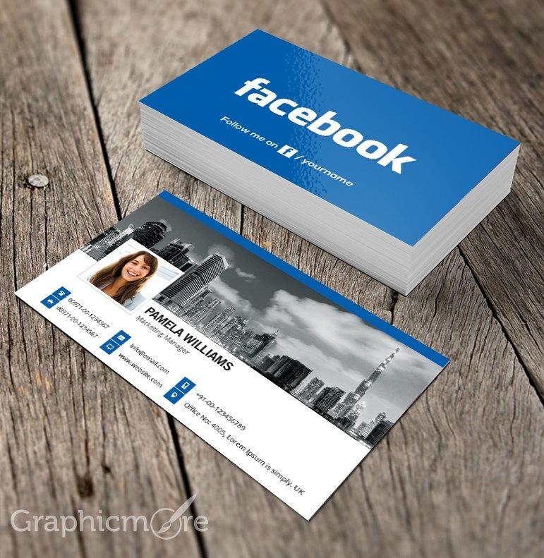 کارت ویزیت فیسبوک