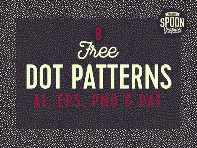 الگوی نقطه (dot pattern)